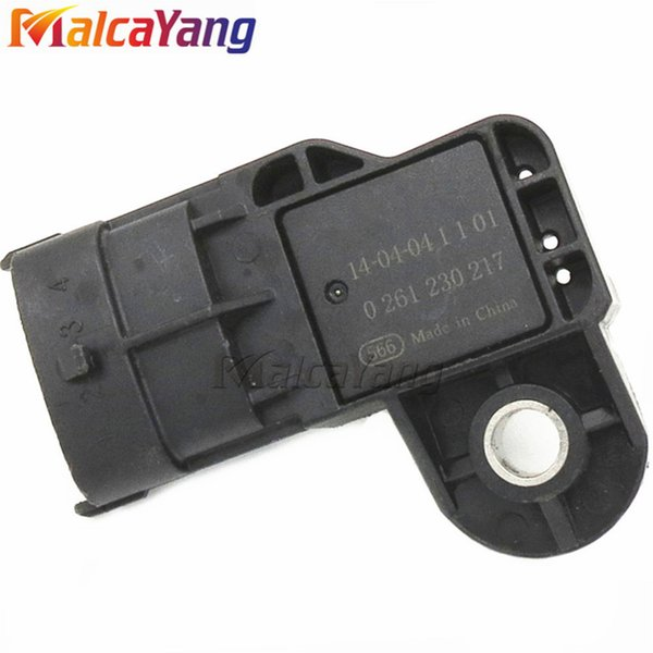 MAP Sensor 0261230217 Intake Manifold Air Absolute Boost Pressure Sensor for Chevrolet BYD F0 Honda Civic Jazz Stream Fit