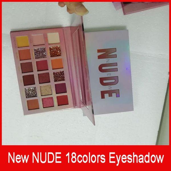 NEW NUDE 18 Farben Lidschatten Shimmer Matte Lidschatten Beauty Make-up Lidschatten-Palette 18 Farben