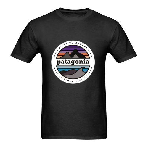 Novo -patagonia-camisa-logotipo-T-Shirt Tamanho-S Para 5XL verão Venda Quente Novo Tee Impressão Homens T-Shirt Top 100% algodão homens casuais