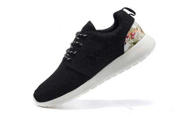 288f64da6e76 floral canvas sneakers Promo Codes - London Flowers Printing Outdoor Shoes  for Men and Women 2018