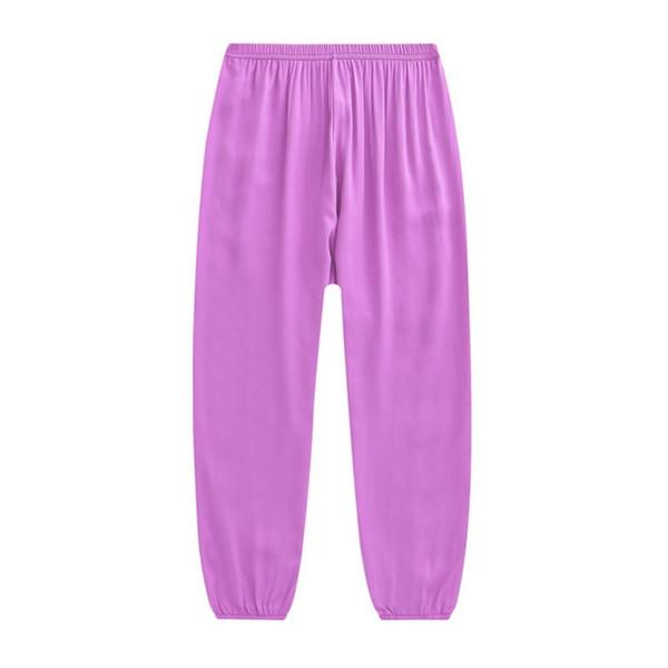 Mulheres Yoga Calças Sports Correndo Sportswear Fitness Artes Marciais Tai Chi Calças De Algodão De Seda Yoga