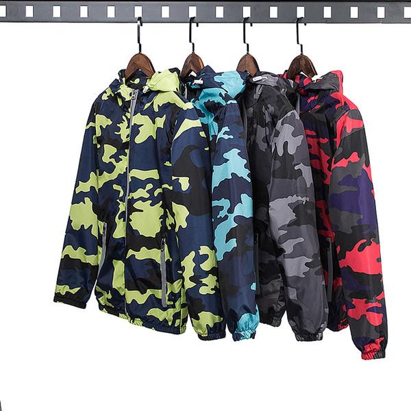 New Camouflage Jacket Men Patchwork Women Plus Size Camo Hooded Windbreaker Jackets Military Canvas Jacket Parka Fashion Streetwear