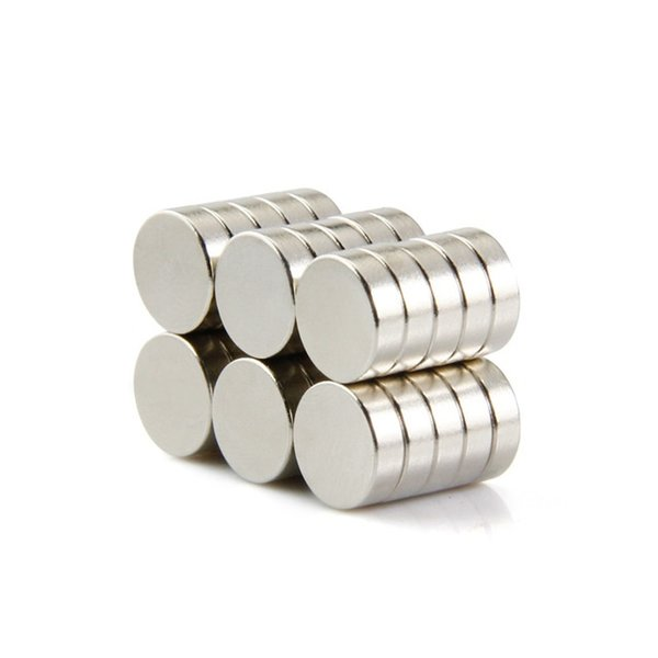 50pcs disc 10x3mm N50 rare earth permanent industrial strong neodymium magnet NdFeB magnets
