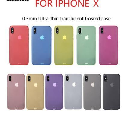 0.3mm Ultra Thin Slim Matte Frosted Transparent Clear Flexible Soft PP Cover Case Skin For iPhone X 8 7 Plus 6 6S 5 5S Samsung Galaxy S9 S8