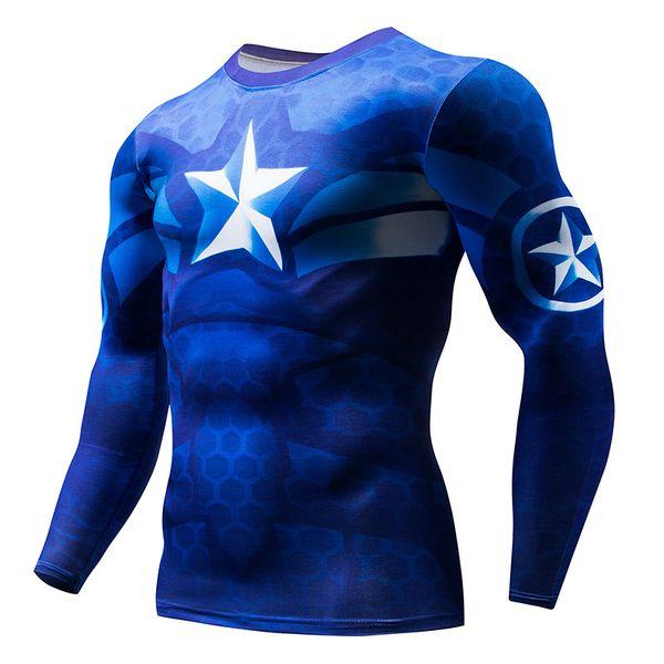 Marvel Anime Superhero Compression shirt Men Women Cycling Base Layers Bicycle Rashguard Tights Breathbale Underwear Jersey