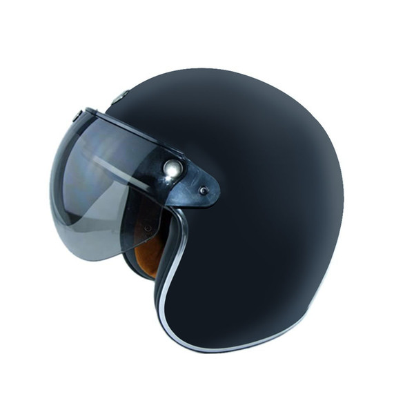 Vehemo Motorcycle Helmet Lens Against Wind Sunshade Three Buckle Riding for 3/4 Helmets only lens