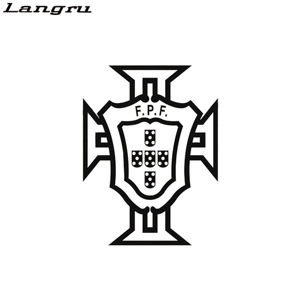 Langru For Portuguese Football Federation FPF Car Decal Sticker Vinyl Truck Boat Die Cut No Background Creative Decorative Jdm