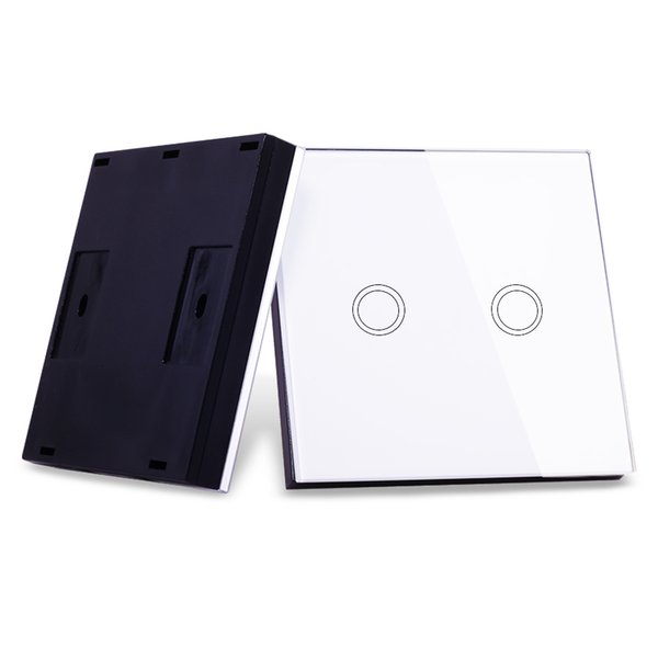 Vhome universal wireless RF 433MHZ Luminous Wall Sticker type smart remote control Transmitter+EU/UK standard Touch Light Switch