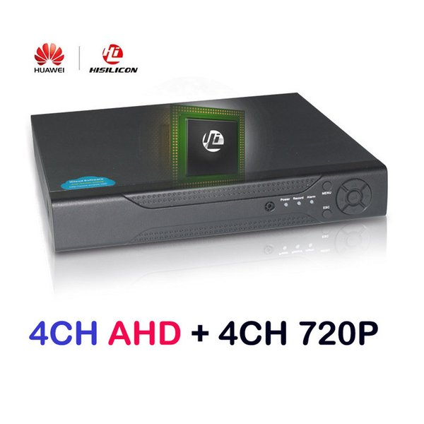 4 Kanal 5.0MP NVR / 4 Kanal 5.0MP AHD, CVI, TVI / CVBS 960H, HDMI, 5 in 1 hybrider DVR CCTV H.264 Netzwerk-Videorecorder AHD 5.0mp DVR