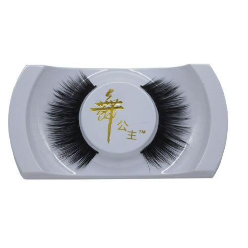 1 Pair Women Lady 100% Real Mink Natural Thick False Fake Eyelashes Eye Lashes Makeup Extension rds Tools