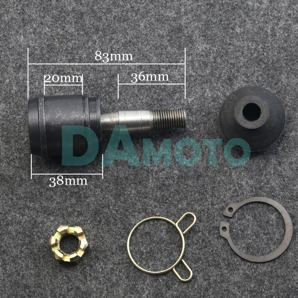 Chinese ATV Quad GO Kart Spare Parts 180mm Joint Ball Tie Rod Turn Shaft Assy