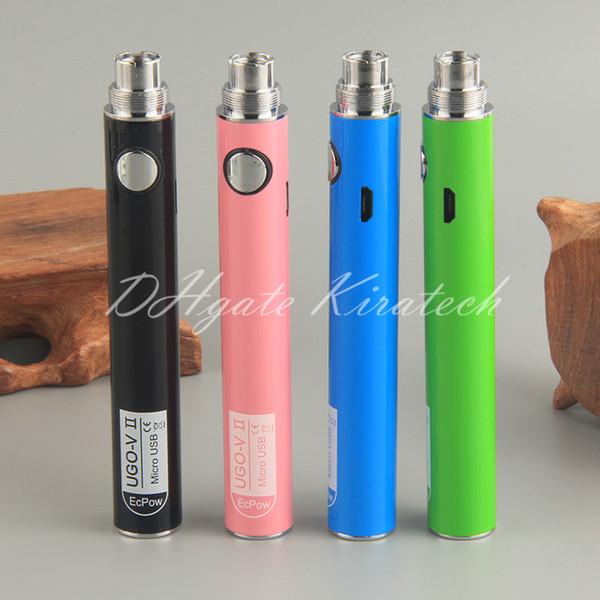 UGO VII Ecigarettes eGo eVod Vape Pens E Cig Vaporizer UGO-VII Battery 650mah 900mah Micro USB UGO-V Update For 510 Atomizers China Market