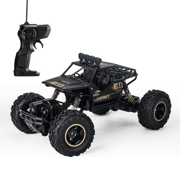 Children Remote Control Car Four Drive Alloy Strong Off Road Vehicle Toy Outdoor Complex Terrain Racing Toys 54ll WW