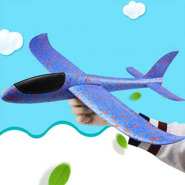 DIY Educational Toys Hand Launch Throwing Foam Palne 48cm Big Aircraft Modle EPP Airplane Model Plane Outdoor Novelty Toys