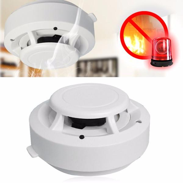 Detector de humo de alta sensibilidad Sistemas de alarma para el hogar Detector de humo independiente de seguridad Alarma de protección contra incendios Alarma