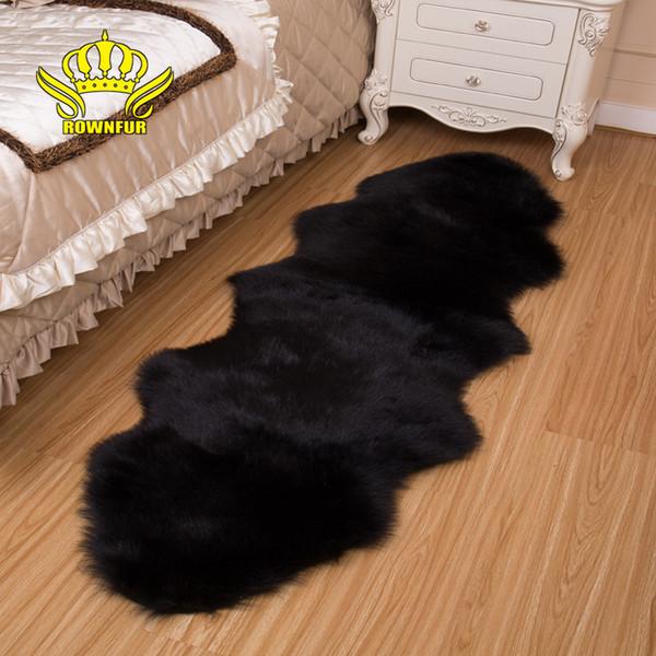 ROWNFUR Nachahmung Wolldecken Für Hauspelz Teppiche Tapetes Alfombras Für  Kinderzimmer Wohnzimmer Sehr Warm Und Qualitativ Hochwertige Schaffell