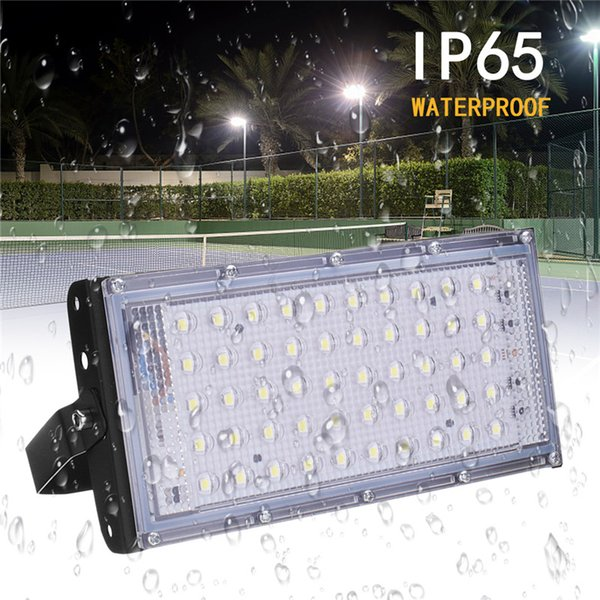 50W Waterproof LED Security Flood Light Super Bright Garden Outside Lamps Lights