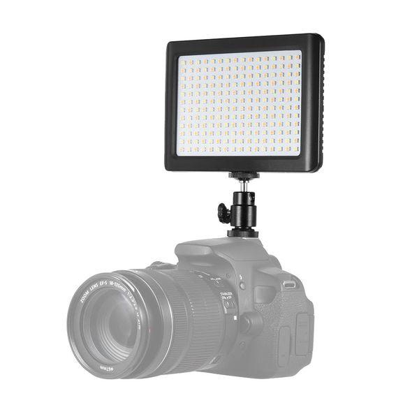 Wansen 12 w 192 led süper ince 3200 k-6000 k stüdyo video sürekli ışık lamba fotoğraf dolgu ışığı canon nikon sony kamera dv kamera için