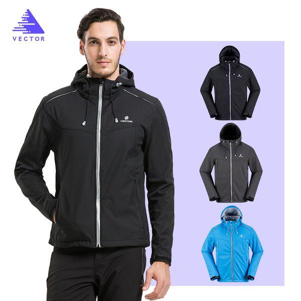 VECTOR Softshell Jacket Men Outdoor Jacket Windproof Waterproof Male Camping Hiking Jackets Rain Windbreaker 60025