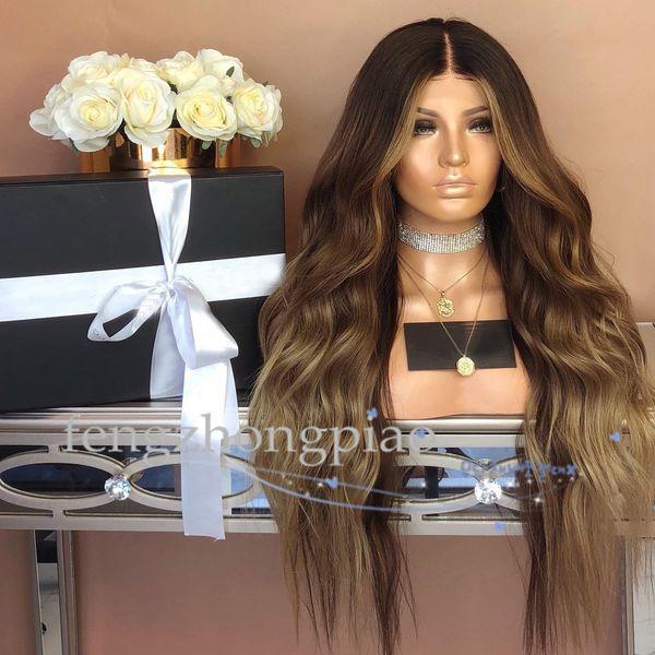 FZP Günstige Simulation Menschliches Langes Haar Perücken Brasilianische Bester Körper Welliges Haar Perücken Afro Verworrene Lockige Volle Kurze Perücken Für Schwarze Frauen