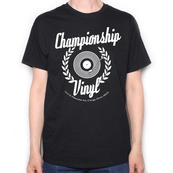 Inspiré par High Fidelity T-Shirt - Logo de culte film de culte Analogue 100% coton à manches courtes