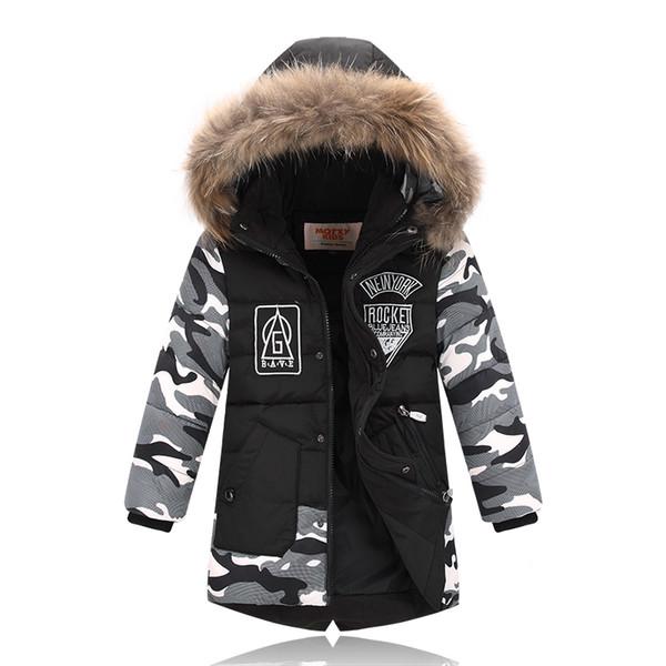 Kids Winter Coats Baby Boys Outerwear Down Jacket Boys Winter Coats Duck Down Boys Winter Parkas