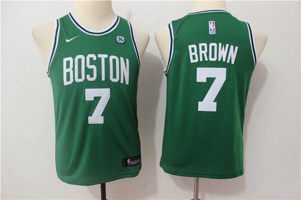 lowest price f8b25 50c29 2019 New Youth 11 Kyrie Irving Boston Jersey Celtics Kids Basketball Jersey  Stitched Celtics 7 Jaylen Brown 0 Jayson Tatum Boys Basketball Jersey From  ...