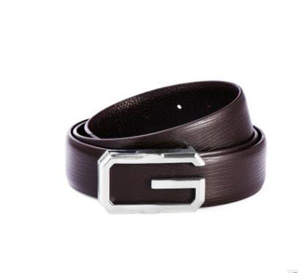 Free Shipping Designer Men Business Belt Male Luxury Cow Genuine Leather Belts For Men Fashion Buckle Strap Ceinture Homme