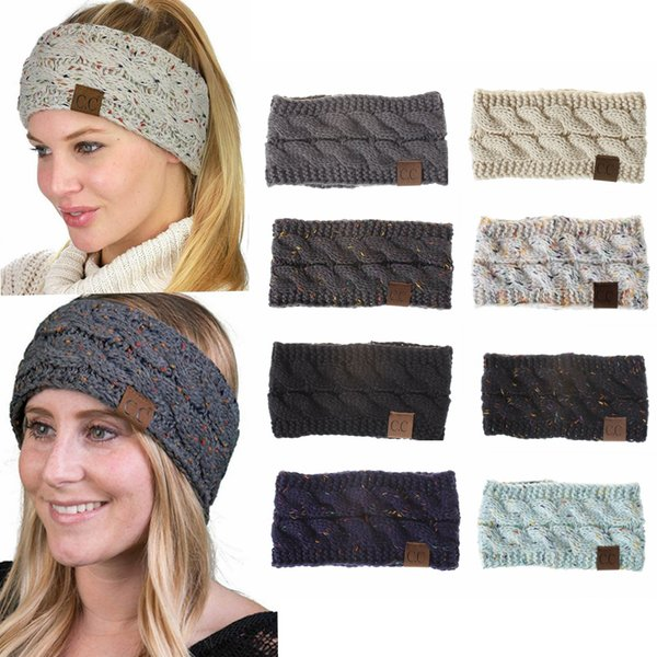 Compre Cc Crochet Twist Headwrap De Punto Winter Warmer Hair Band ...
