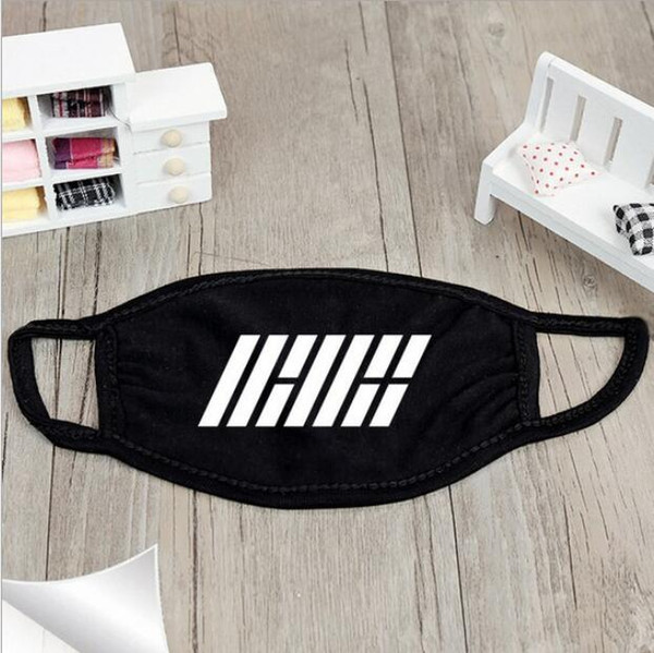 New Unisex Black Cotton Anti-dust Mask Motorcycle Bicycle Outdoor Sports Wearing Windproof Warm Face Mouth Half Mask
