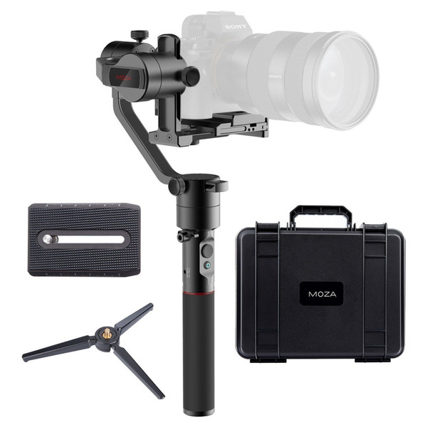 MOZA AirCross 3-Axis Gimbal Cameras Stabilizer for DSLR & Mirorless Cameras Load 1.8KG Free Shipping