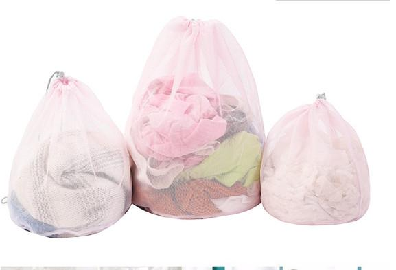 3pcs/set Mesh Laundry Bags Baskets For Bra underwear Clothes Lingerie House Cleaning Tool Washing Machine Accessories
