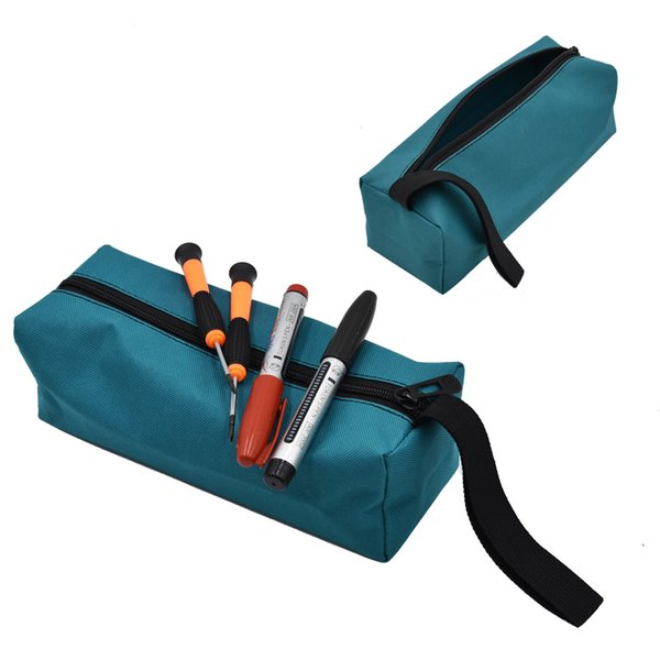Canvas Car Auto Hardware Hand Repair Tool Bag Plier Screwdriver Spanner Screws Nails Carry Case Pouch Pocket Storage Tool Bags