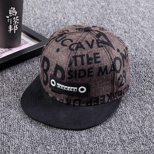2018 moda nuevo sombrero de béisbol hip hop verano gorra plana hombres y mujeres casquette homme SnapBack hat chance the rapper bone caps