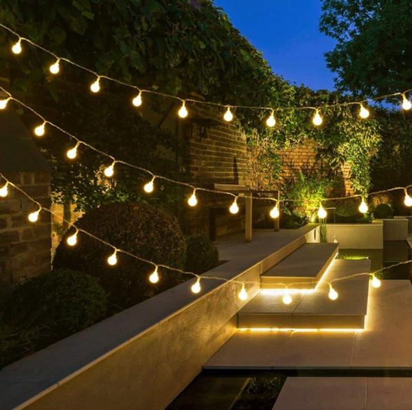 LED Topu Dize Işıkları Sıcak Beyaz 10 M 100 LEDs / USB / Pil Yenilik Peri Aydınlatma Festivali Noel Düğün Dekorasyon