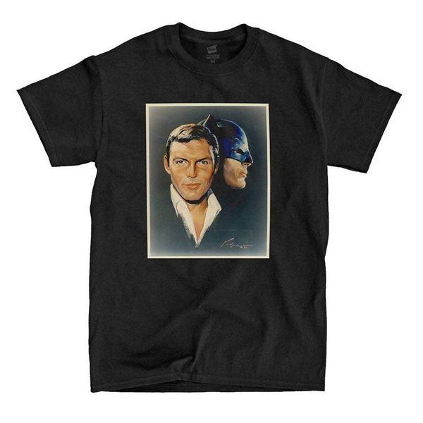 Горячий хром ordenanza Адам Запад - живопись - черная футболка мужская 2018 модный бренд 100%хлопок печатных 100% хлопок классический тройник