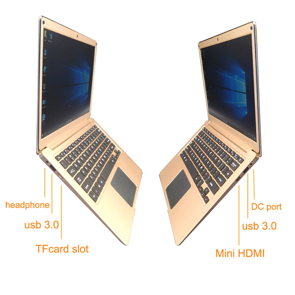 2018 windows 10 Intel ATOM Z8350 13.3'' 4GB 128GB EMMC 1920X1080P laptop built in bluetooth wifi camera ultra slim computer