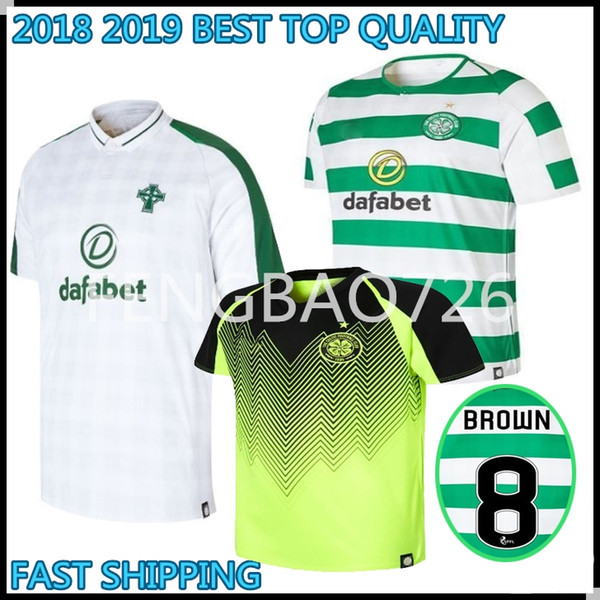 new product 40eb6 b8810 2018 2018 2019 Top Quality Celtic Fc Soccer Jersey Mcgregor Griffiths  Dembele Sinclair Rogic Roberts Forrest 18 19 Football Shirts From  Fengbao726, ...