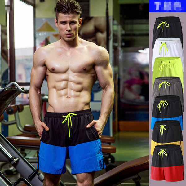 top popular 2018 New Basketball Shorts With pocket men sportswear Men training Breathable loose sports clothes Elastic football sport shorts 2019