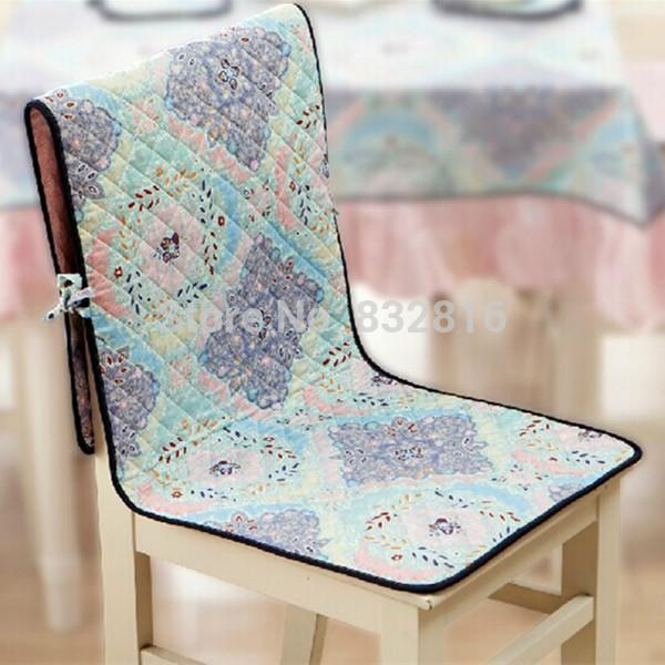 Wholesale-45x135CM High Quality Cotton Modern Printed Chair Covers Double Side Seat Cushion Cover Party Chair Cover