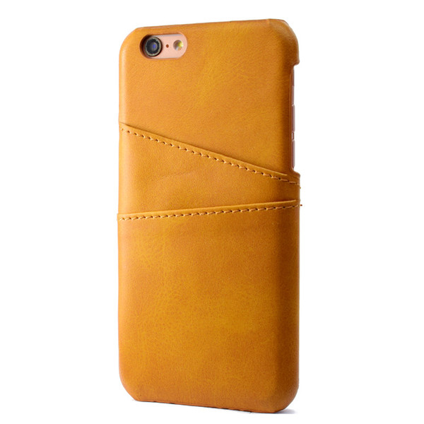 PU Leather Coque For iPhone 6 Plus Case Luxury Back Cover Card Holder Mobile Phone Cases For iPhone 6S Plus