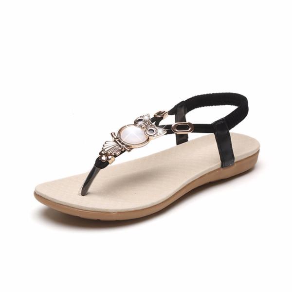 nuevo estilo a024c 75f3b Compre YOMISOY 2018 Verano Mujer Zapatos Moda Dama Sandalias Damas Zapatos  PU Sandalia Para Mujer Diseñador Mujeres De Lujo 2018 A $27.57 Del Annawawa  ...