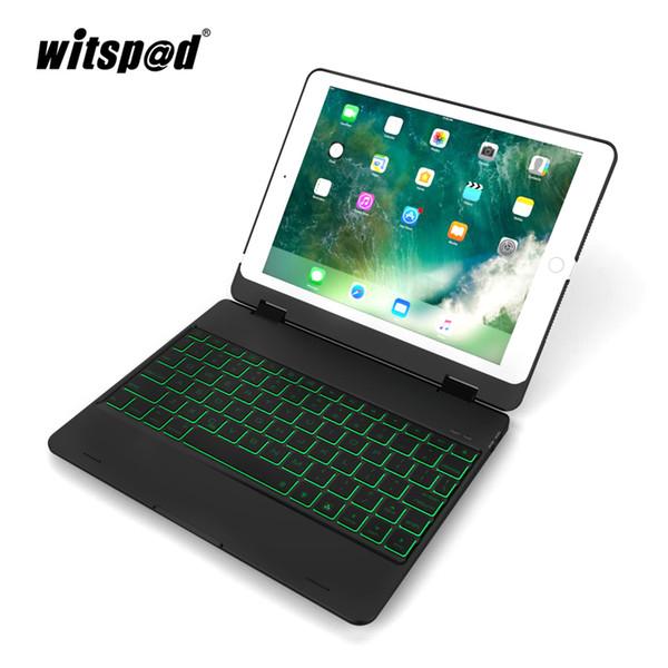 witsp @ d-Backlight Tastaturkasten für iPad 9.7