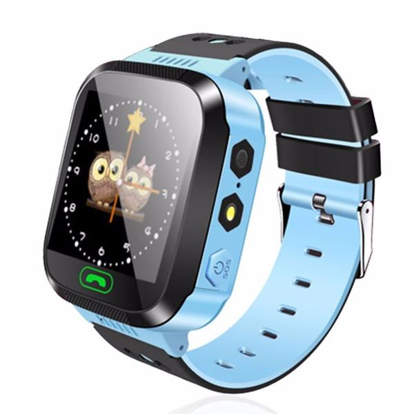 Y03 Smart Watch Kids Wristwatch Touch Screen GPRS Locator Tracker Anti-Lost Smartwatch Baby Safety Watch With Remote Camera SIM