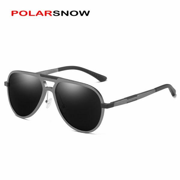 POLORSNOW 2018 Vintage Marka Tasarımcı Moda Güneş Gözlüğü Polarize Erkekler Sürüş Erkek Güneş Gözlükleri Erkekler Kadınlar 201911