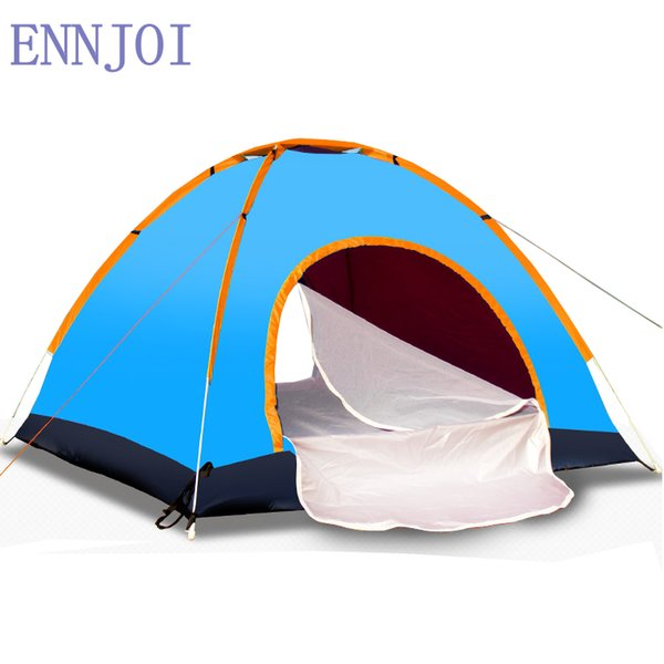 200 * 150CM 2Person One Bedroom Camping Tent Single Layer 190D Oxford Cloth Outdoor Hiking Backpacking Camping Tent