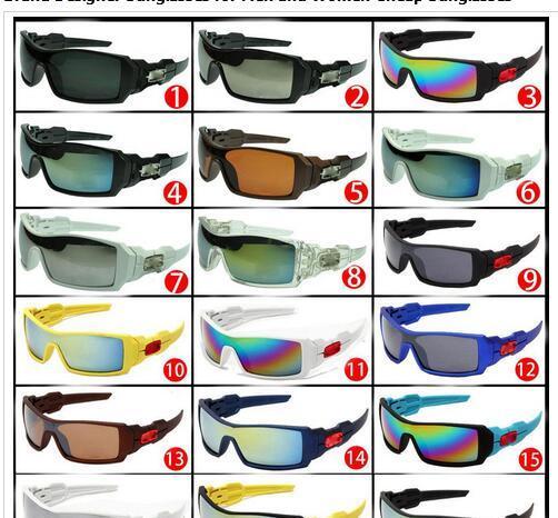 Случайный отправить нет коробки поляризованных солнцезащитных очков для мужчин и женщин открытый спорт велоспорт вождение солнцезащитные очки Солнцезащитные очки для лета