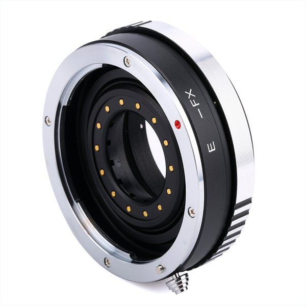 Q24247 BGNING Camera Lens Adapter Ring with Aperture for Canon EOS EF Mount Lens to FX for Fujifilm Fuji X-PRO1 X-E1 X-T1 DSLR EF-FX