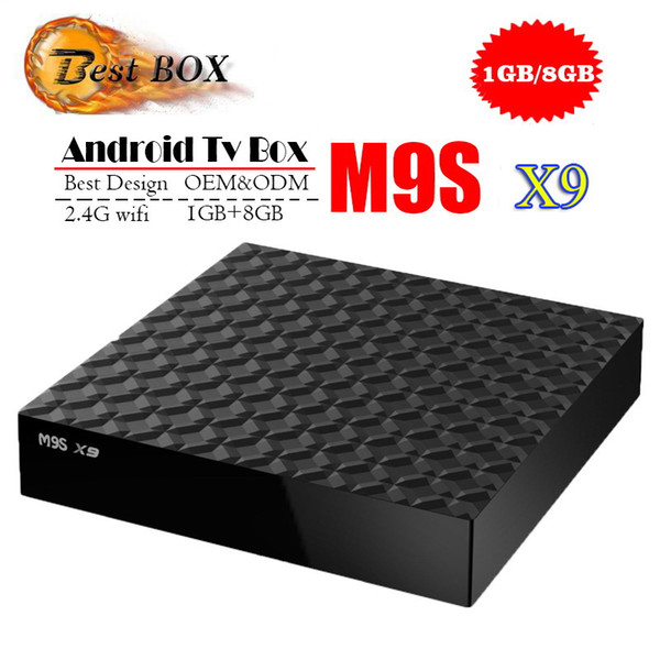 Cheapest RK3229 MXQ PRO 4K M9S V5 V3 K3 X9 Tv Box Ram 1G Rom 8G Android 7.1 tv box Stream Media Player Support 3D Free Movies