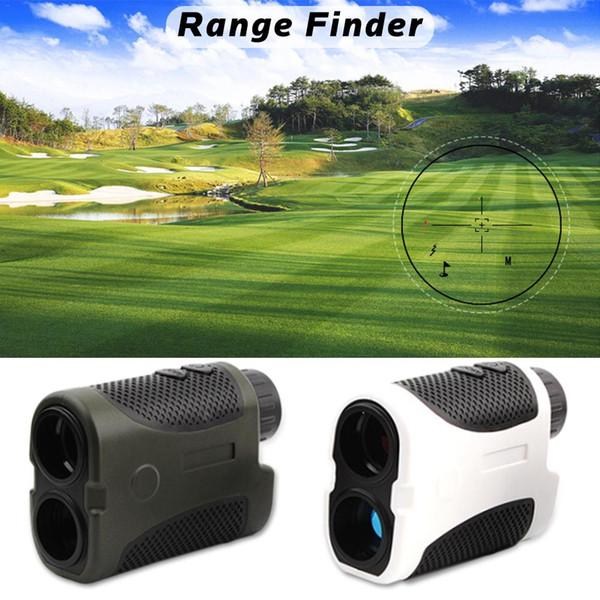 2018 Nuovi 400 metri di distanza Golf Laser Palmare Range Finder Compensazione della pendenza Angolo di scansione Caso Club Pinseeking Opt
